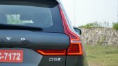 Volvo XC60 test drive review front angle taillight