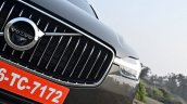 Volvo XC60 test drive review grille and logo