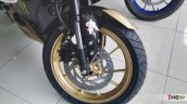 Yamaha R15 v3.0 Custom Black and Gold front wheel