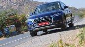 2018 Audi Q5 test drive review front angle tilt