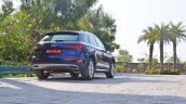 2018 Audi Q5 test drive review rear three quarters
