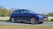 2018 Audi Q5 test drive review side anlge