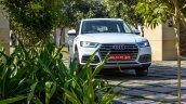 2018 Audi Q5 test drive review white front
