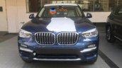 2018 BMW X3 front spy shot India