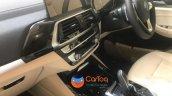 2018 BMW X3 interior spy shot India