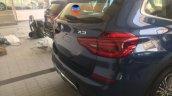 2018 BMW X3 rear fascia India spy shot