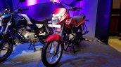 2018 Bajaj Platina ComforTec showcased front left quarter