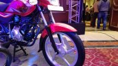 2018 Bajaj Platina ComforTec showcased front wheel