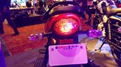 2018 Bajaj Platina ComforTec showcased tail light
