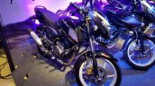 2018 Bajaj Pulsar 150 Black Pack Edition showcased front left quarter