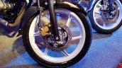 2018 Bajaj Pulsar 150 Black Pack Edition showcased front wheel