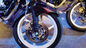 2018 Bajaj Pulsar 220F Black Pack Edition showcased front brake