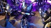 2018 Bajaj Pulsar 220F Black Pack Edition showcased front