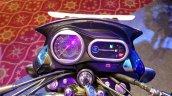 2018 Bajaj V15 unveiled instrument cluster