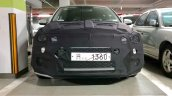 2018 Hyundai i20 (facelift) front spy shot South Korea