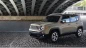 2018 Jeep Renegade front three quarters left side