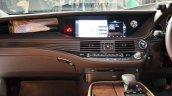 2018 Lexus LS500h centre console