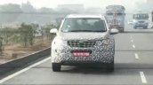 2018 Mahindra XUV500 (facelift) front spy shot
