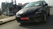 2018 Maruti Ciaz (facelift) front three quarters spy shot