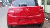 2018 Maruti Swift rear spy shot
