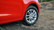 2018 Maruti Swift test drive review alloy wheels