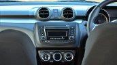 2018 Maruti Swift test drive review centre console