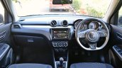 2018 Maruti Swift test drive review dashboard