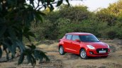 2018 Maruti Swift test drive review front angle far