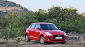 2018 Maruti Swift test drive review front angle