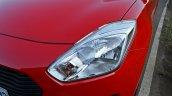 2018 Maruti Swift test drive review headlamp