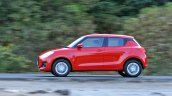 2018 Maruti Swift test drive review motion shot