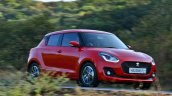 2018 Maruti Swift test drive review side angle action