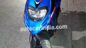 Aprilia SR 125 spied Blue front