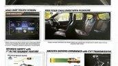 Datsun Cross brochure interior leaked image
