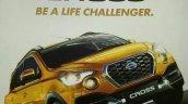 Datsun Cross brochure leaked image
