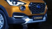 Datsun Cross live images front section