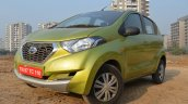 Datsun redi-GO 1.0 MT Lime close view