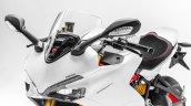 Ducati SuperSport S Star White Silk press front left quarter