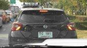 Fifth-gen Nissan Micra Thailand spy shot