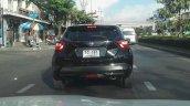 Fifth-gen Nissan Micra rear spy shot