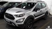 Ford EcoSport Storm front three quarters spy shot