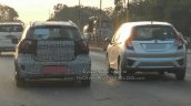 Ford Figo Cross (Ford Figo Freestyle) rear spy shot