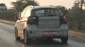 Ford Figo Cross (Ford Figo Freestyle) rear three quarters dynamic spy shot
