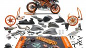 KTM RC 390 R with SSP300 kit