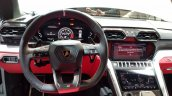 Lamborghini Urus dashboard driver side India launch