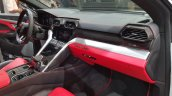Lamborghini Urus dashboard passenger side view India launch