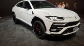 Lamborghini Urus front three quarters right side India launch