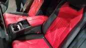 Lamborghini Urus rear seats elevated view India launch