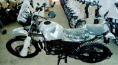 Royal Enfield Himalayan Camo variant spied left side