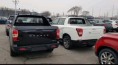 SsangYong Rexton Sports rear spy shot